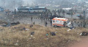 40 CRPF men killed in terror attack in Jammu and Kashmir