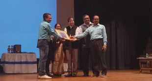 Indian Journalists Association felicitates Kalyani University VC